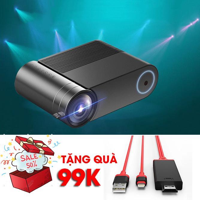 Bảng giá [MỚI NHẤT] Máy chiếu di động gia đình đa năng YG550 siêu nét + TẶNG KÈM dây kết nối điện thoại iphone 99k
