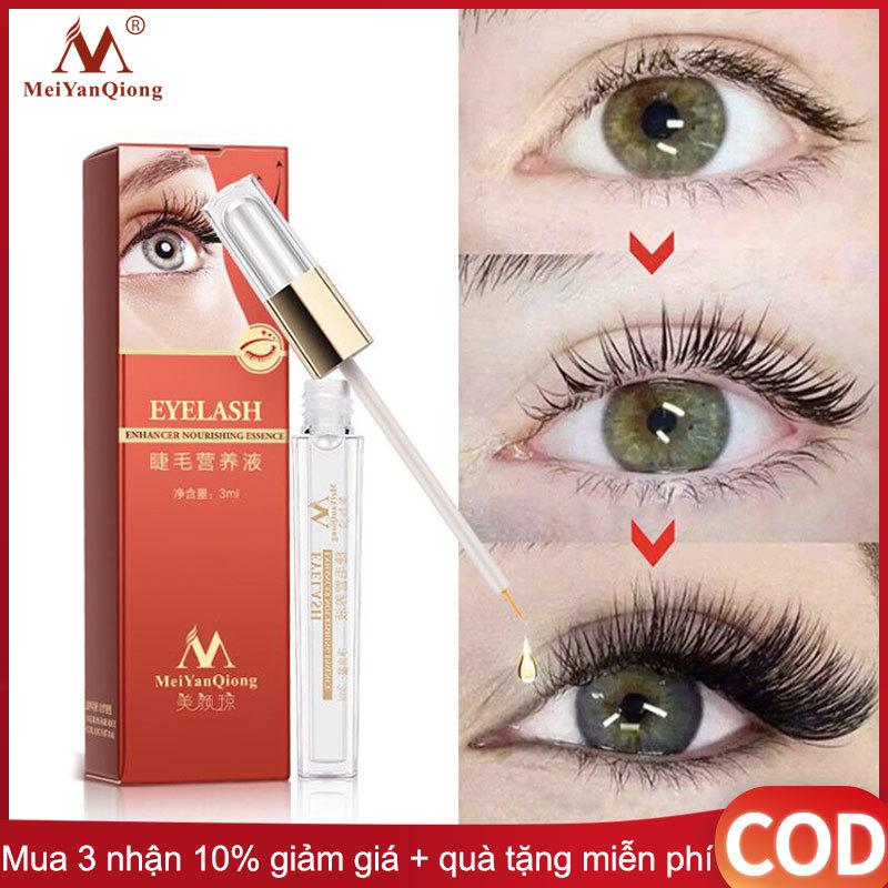 MeiYanQiong thảo dược lông mi tăng tinh chất trưởng điều trị Serum lỏng tăng cường mi mắt dài hơn dày hơn tốt hơn so với mở rộng lông mi trang điểm mạnh mẽ