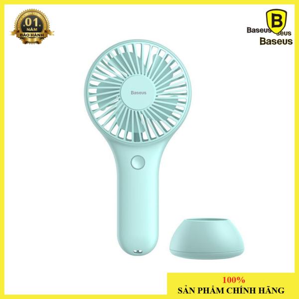 Quạt mini cầm tay pin sạc Baseus Bingo Fan ( 3 Level , Rechargeable Mini USB Hand and Desktop Fan)