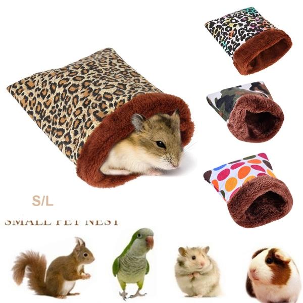 Thảm Tre Sóc Chuột Lang Thảm Mùa Đông Ấm Áp Cho Động Vật Nhỏ Chinchilla, Pet Nguồn Cung Cấp Nhà Hamster Túi Ngủ, Giường
