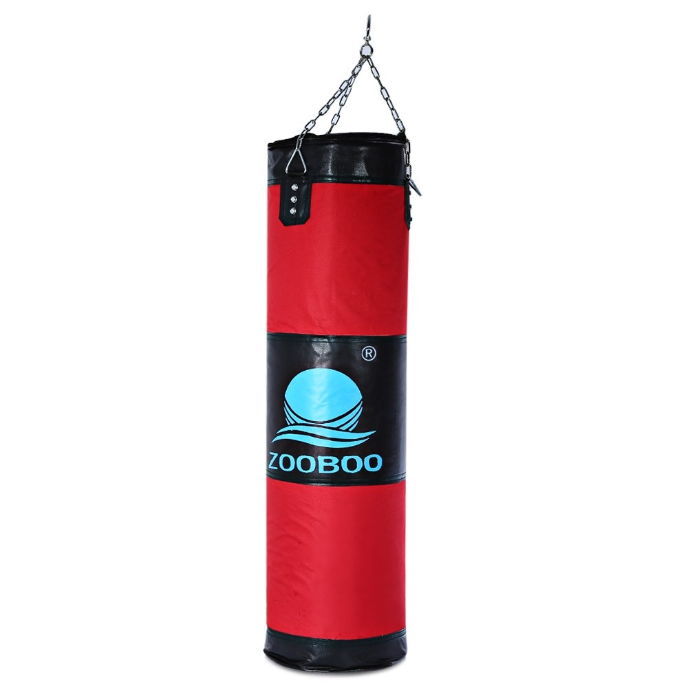 100cm Boxing Punching Bag Fitness Sandbags Striking Drop Hollow Empty Sand Bag Martial Art Training Punch Target - intl