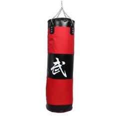 Hình ảnh 100cm Training MMA Boxing Hook Kick Sandbag Fight Sand Punch Punching Bag - intl