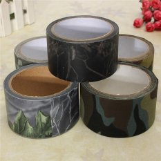 Hình ảnh 10M Outdoor Waterproof Camouflage Bionic Forest Camo Stealth Duct Tape - intl