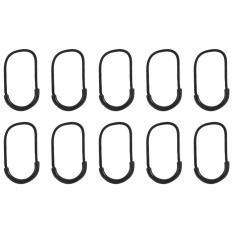 Hình ảnh 10pcs Plastic EDC Smile-Style Zipper Cord Bag Accessories - intl