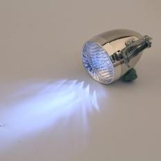 3 ĐÈN LED Xe Đạp Xe Đạp Sáng Trước Ánh Sáng Đèn Pha Vintage Đèn Pin-quốc tế