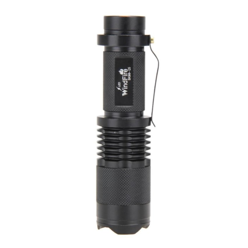 Bán 3 Modes Cree Q5 Mini 3000Lm Led Zoomable Adjustable Focus Flashlight Intl