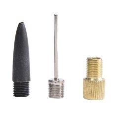 Hình ảnh 3Pcs Inflator Kit for Air Frame Pump Needles Adaptor - intl