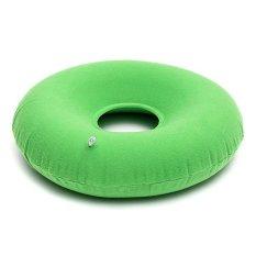 Hình ảnh 40cm Inflatable Nylon PVC Donut Round Pressure Cushion Ring Office House + Pump - intl