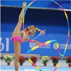Hình ảnh 4 m Trẻ Em Vũ Ruy Băng Tập Gym Nhịp Điệu Nghệ Thuật Tập Thể Ba Lê Streamer Twirling Cần-quốc tế