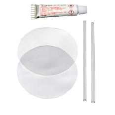 Hình ảnh 5 cái PVC Đâm Thủng Miếng Vá Sửa Chữa Keo Bộ Dụng Cụ cho Bơm Hơi Đồ Chơi Hồ Bơi Phao Không Giường Dinghies-quốc tế