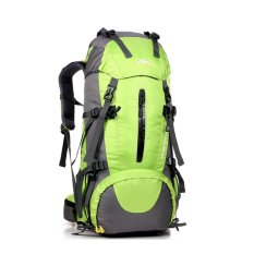 50L Climbing Outdoor Travel Sport Camping Hiking Backpack Green Intl Nguyên