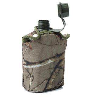 AC 850 ml Phong Cách Quân Đội Tuần Tra Nước Bằng Nhựa Căng Tin Thể Thao Ngoài Trời Cắm Trại Đi Bộ Đường Dài Du Lịch + Camo-intl thumbnail