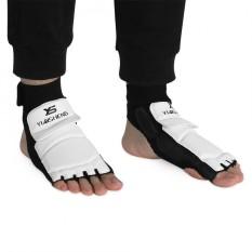 Hình ảnh Adult/Kids Taekwondo Sparring Boxing Half Toe Foot Guard Protector Cover (XL Foot Guard) - intl