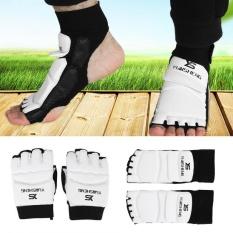 Bán Adult/Kids Taekwondo Sparring Boxing Half Toe Foot Guard Protector Cover (XS Foot Guard) - intl