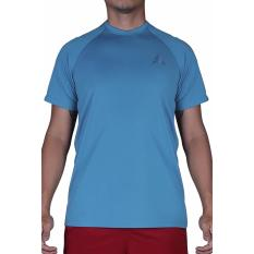 Giá Bán Áo Thẻ Thao Nam Thời Trang Plain Sport Tee Sky Blue A095 Nguyên Alien Sports