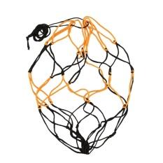 Hình ảnh Arctic Land 10PCS Nylon Net Bag Ball Carry Mesh Basketball Football Soccer Game Black&Yellow - intl