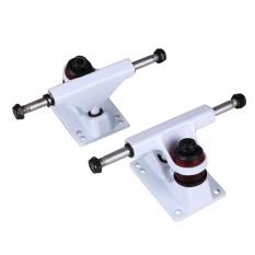 Hình ảnh Aukey 0 shipping fee 2Pcs Aluminum Magnesium Alloy Long Skate Board Skateboard Bridge Professional - intl