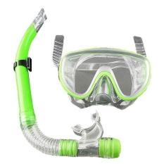 Hình ảnh Aukey 0 phí vận chuyển Bơi Bơi Gear Lặn Pro Chống Sương Mù Kính Mặt Nạ Lặn Kính Lặn Ống Thở-quốc tế
