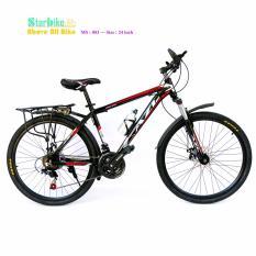 AZI bike  leo núi  26 icnh khung nhôm   < vè baga >