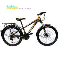 Mua AZI bike  leo núi  26 icnh, nhúng trước, 2 thắng đĩa  < vè baga >