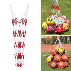 Hình ảnh Ball Basketball Football Storage Big Bags Tuck Net Adjustable Hold 10-15pcs - intl