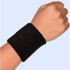 Hình ảnh Băng bảo vệ cổ tay khi chơi thể thao loại 8cm (Đen)