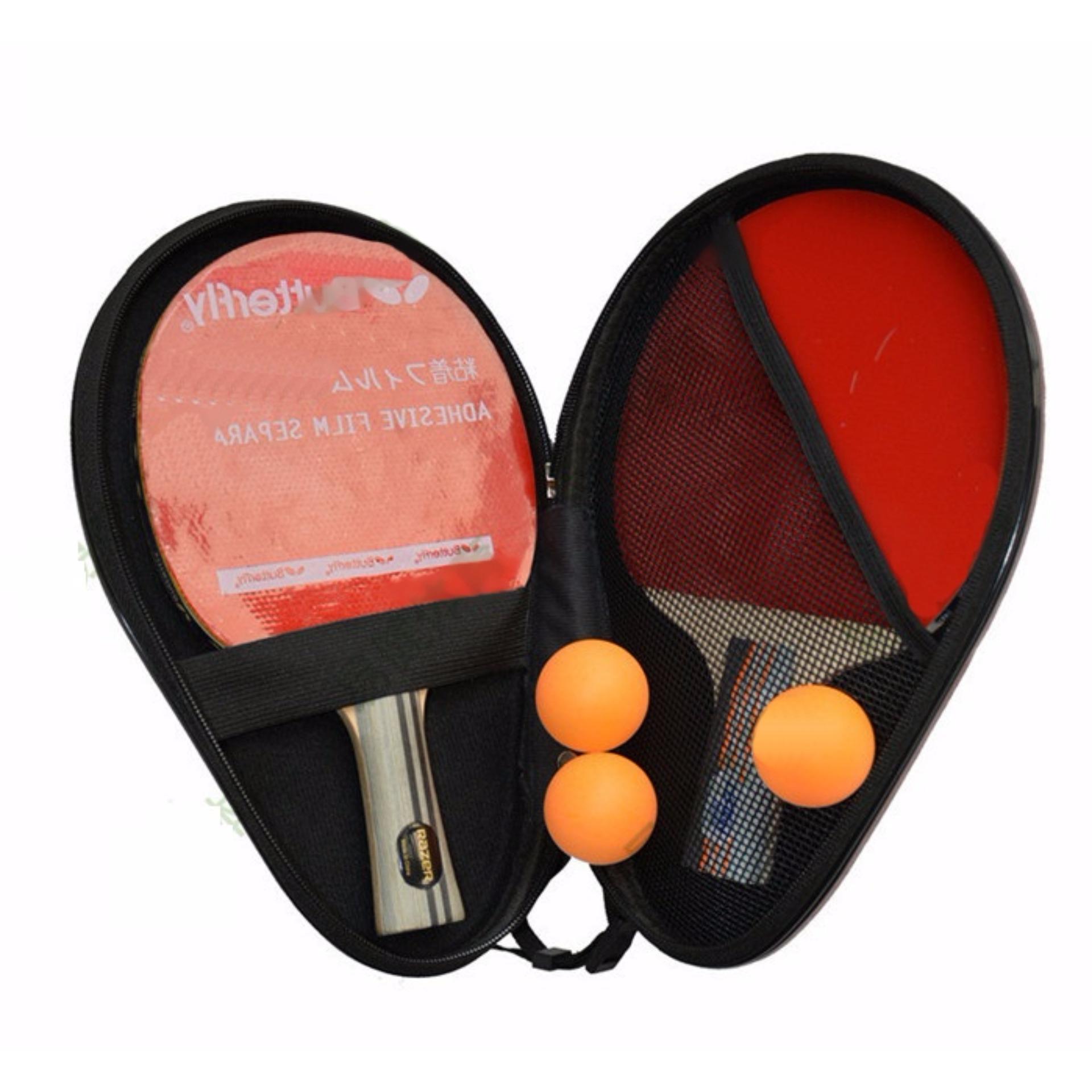 Bao đựng vợt bóng bàn, túi đựng vợt bóng bàn cứng cáp bảo vệ tuyệt đối vợt; chất liệu cao cấp  POPO Sports 14