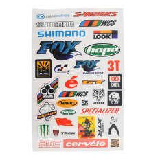 BMX MTB Road Bike Cycling Bicycle Skateboard Decal Cool Sheet Stickers Sticker - intl
