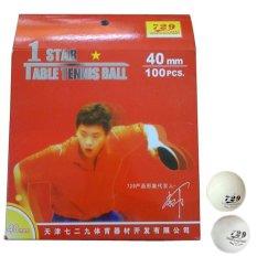 Hình ảnh Bộ 100 trái banh bóng bàn 1 sao 729 (Trắng)