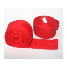 Hình ảnh Bộ 2 cái băng cuốn tay đấm boxing phucthanhsport (Đỏ)
