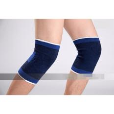 Hình ảnh Bộ 2 phụ kiện bảo vệ đầu gối chân cho gym hay các môn thể thao