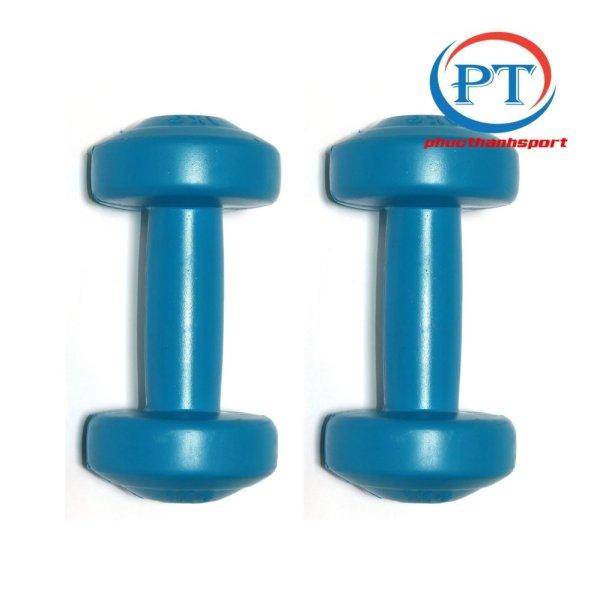 [HCM]Bộ 2 tạ tay nhựa 1kg phucthanhsport