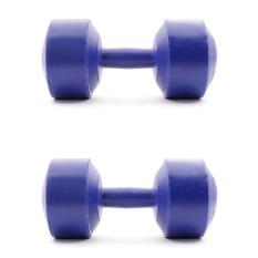 Hình ảnh Bộ 2 tạ tay nhựa VN 1kg (Xanh dương)