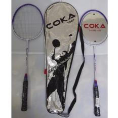 Hình ảnh Bộ 2 vợt cầu lông cao cấp COKA 1007(màu ngẫu nhiên)