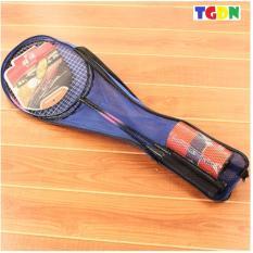 Hình ảnh Bộ 2 vợt cầu lông cao cấp kèm cầu