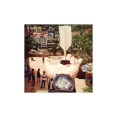 Hình ảnh Bộ 50 Quả Cầu ĐÁ Lông Gà Handmade