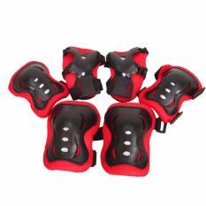Hình ảnh Bộ bảo vệ chân tay cho bé chơi thể thao BV01 (Nhiều màu)