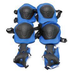 Hình ảnh Bộ bảo vệ đầu gối, tay, chân an toàn cho bé (Xanh)