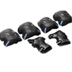 Bộ bảo vệ trượt patin , trượt ván ...(màu đen - bộ 3 trong 1 )
