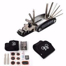 Bộ công cụ hỗ trợ xe đạp đa chức năng LP0021(Đen)