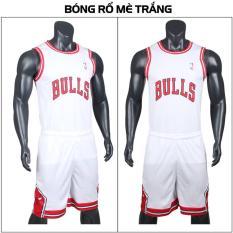 Bộ Đồ Bóng Rổ CPSports Sportslink BONGRO-TRANG - Trắng