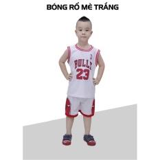 Hình ảnh Bộ đồ bóng rổ trẻ em CPSports (Trắng)