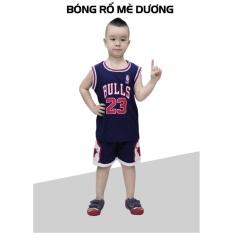 Hình ảnh Bộ đồ bóng rổ trẻ em CPSports (Xanh Dương)