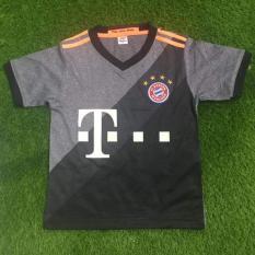 Hình ảnh Bộ đồ đá banh trẻ em Bayern Munich (Xám đen)