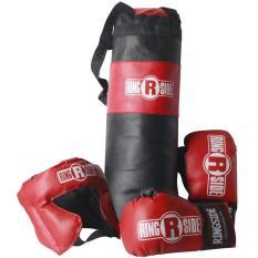 Hình ảnh Bộ dụng cụ tập boxing trẻ em Ringside Kids Set