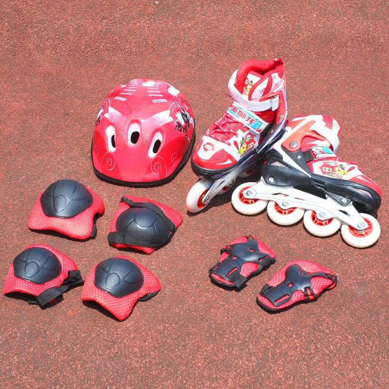 Mua Bộ giầy Patin Aslong ASL 0611 (đỏ đen) 32/35