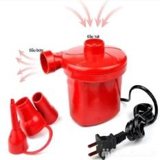Hình ảnh Bơm điện 2 chiều bơm và hút chân không (Đỏ)