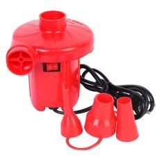 Hình ảnh Bơm điện hút xả 2 chiều wenbo (Đỏ)