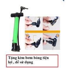 Hình ảnh Bơm mini cầm tay, bơm xe đạp tặng kèm bơm bóng tiện lợi