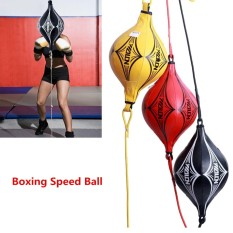 Hình ảnh Boxing speed ball fitness vent ball sandbags for boys and men Black - intl